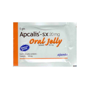 Apcalis SX Oral Jelly - comprar Tadalafil en la tienda online | Precio