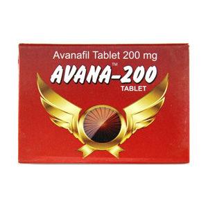 Avana 200 - comprar Avanafil en la tienda online | Precio