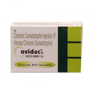 Ovidac 5000 IU - comprar HCG en la tienda online | Precio