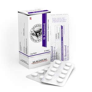 Magnum Anastrol - comprar Anastrozol en la tienda online | Precio