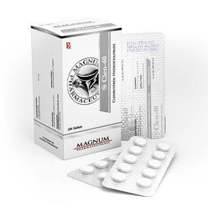 Magnum Clen-40 - comprar Clorhidrato de clenbuterol (Clen) en la tienda online | Precio