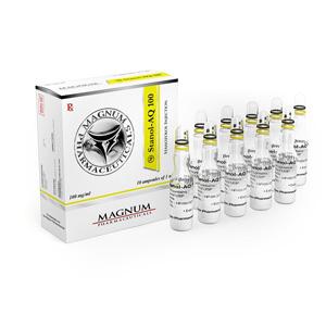 Magnum Stanol-AQ 100 - comprar Inyección de estanozolol (depósito de Winstrol) en la tienda online | Precio