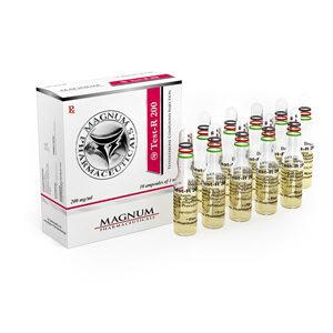Magnum Test-R 200 - comprar Sustanon 250 (mezcla de testosterona) en la tienda online | Precio
