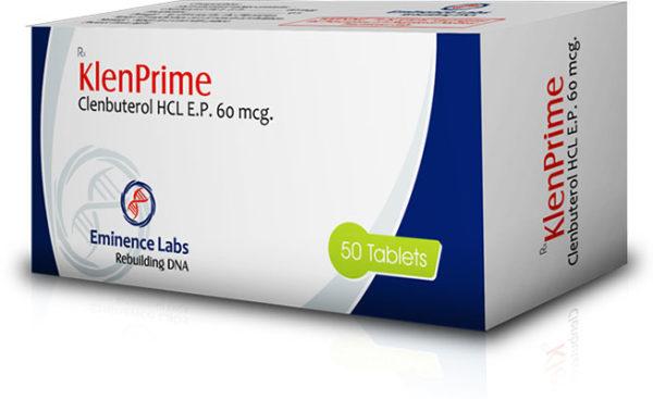 Klenprime 60 - comprar Clorhidrato de clenbuterol (Clen) en la tienda online | Precio