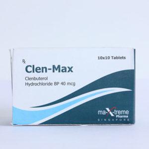 Clen-Max - comprar Clorhidrato de clenbuterol (Clen) en la tienda online | Precio