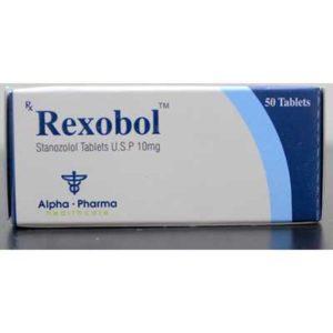 Rexobol-10 - comprar Estanozolol oral (Winstrol) en la tienda online | Precio