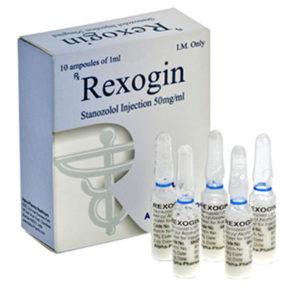 Rexogin - comprar Inyección de estanozolol (depósito de Winstrol) en la tienda online | Precio