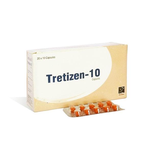 Tretizen 10 - comprar Isotretinoína (Accutane) en la tienda online   Precio