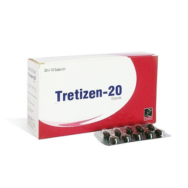 Tretizen 20 - comprar Isotretinoína (Accutane) en la tienda online   Precio