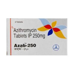 Azab 250 - comprar Azitromicina en la tienda online | Precio